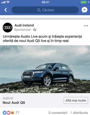 campanii facebook ads reclame postare facebook agentie publicitate facebook 21vision oradea postare fotografie