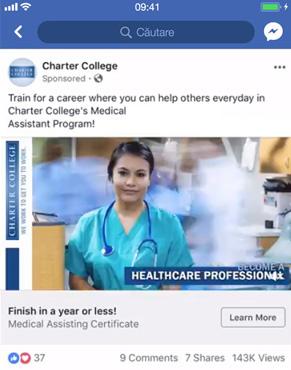 campanii facebook ads reclame video montaj facebook agentie publicitate facebook 21vision oradea