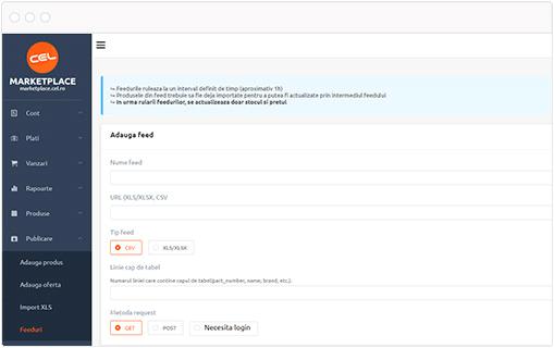 dezoltare API cel marketplace solutii ecoomerce 21vision agentie publicitate oradea