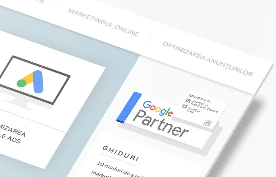 google partners 21vision agentie publicitate oradea