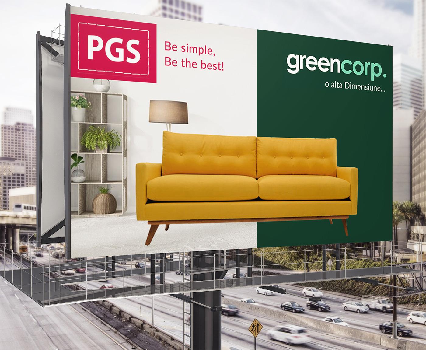 Tapiterie Canapele Oradea.Greencorp Campanii Promovare Print Design Canapele 21vision