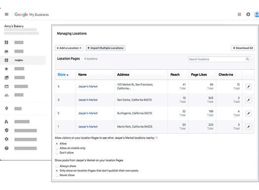 statistici google locatii facebook adaugare firma google agentie publicitate 21vision oradea