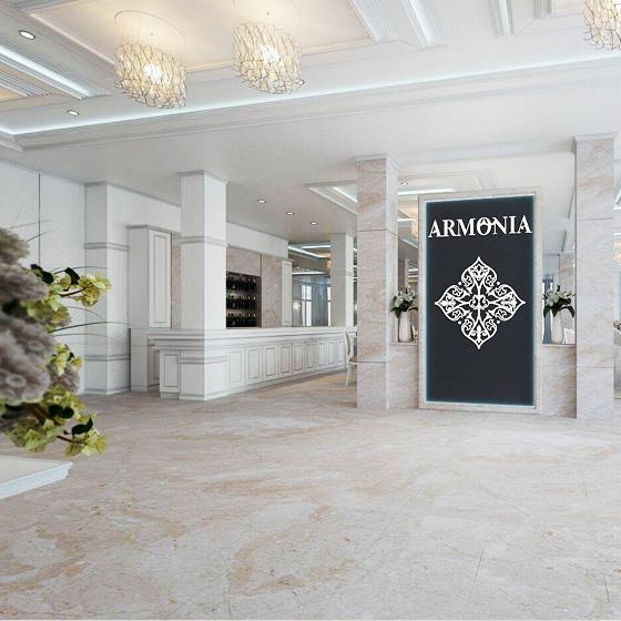 design web site prezentare sala evenimente armonia venue oradea agentie publicitate 21vision
