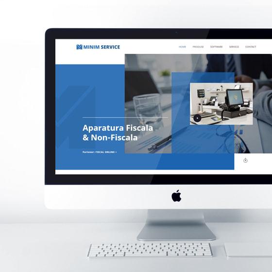 design web site prezentare aparatura fiscala case marcat minim service programare web 21vision