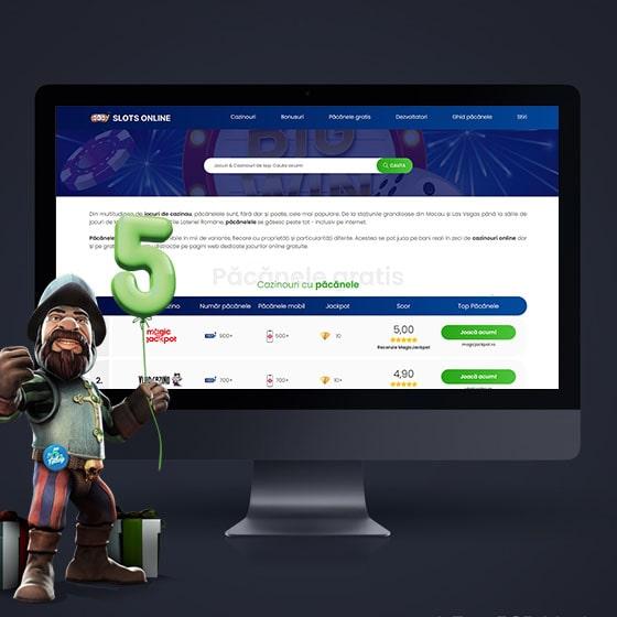 creare site pacanele online afiliere case pariuri jocuri noroc programare web oradea 21vision
